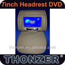 7'' Headrest DVD with FM/IR/USB/SD(MP5)/Wireless Game(TZ-DH769)