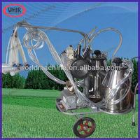 2013 HOTTEST vacuum cow milking machine with single milk barrel