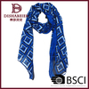 2014 High quality new design digital print polyester scarf