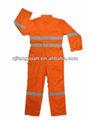 Arbeitssicherheit dfw-p514 orange reflektierende overalls für männer
