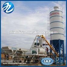 High Quality HZS35 concrete batching plant process flow