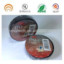 3M 1712 hot sale black pvc tape / 3M tape / insulation tape