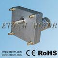 equipo de alto par motor de la cc plano reductor