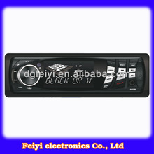 Single Din High Power DJ CD Player For Car Entertainment System