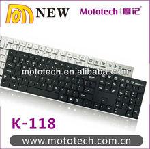Latest Mini Computer Wired Slim USB Keyboard/ wireless ultrathin usb keyboard