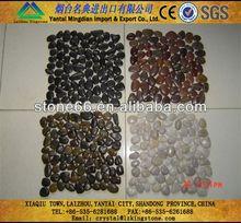 Excellent superb flat round pebbles