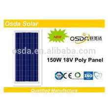 poly pv solar panel 150 watt