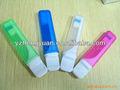 Livre de produtos adultos do sexo amostras, descartáveis escova de dentes com creme dental, melhor venda de produtos