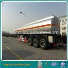 water fuel transportation, 3 axle fuel tanker trailer, trailer truck