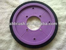 Textiles para el sulzer telares repuesto / de nylon de color púrpura textil de la máquina barredora de limpieza cepillo / textiles, Serie de maquinaria de rodillo del cepillo