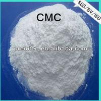 CMC powder thickener for liquid detergents