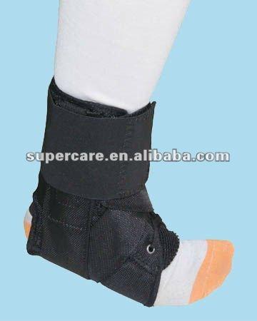 Cinta de tornozelo, sustentação do tornozelo, lace - até o tornozelo cinta