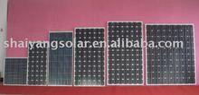 Mono-crystalline silicon solar module 5W,10W,20W,25W,30W,40W,50W,60W,70W,80W,90W,120W,130W,160W,170W,180W,200W,220W,250W,280W
