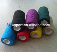 ( t) pet bandagem nonwoven 5cmx4.5m auto- adesivo bandagem elástica