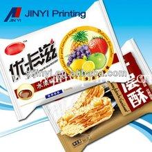 Printed food packaging bag for cookie