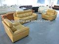 En kaliteli yumuşak oturma odası kanepe/deri kanepe RECLINER 8119