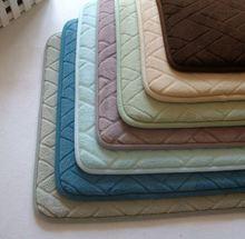 Micronet silicone dots entrance mat/Memory foam bath mat_ Qinyi