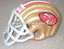 pvc inflatable American football helmet promotional items