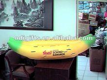 PVC inflatable PVC baby boat in banana shape PVC banana boat air banana boat