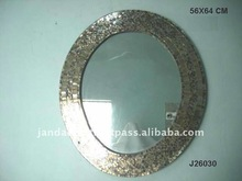 Round Glass Mosaic Mirror available in all sizes and styles