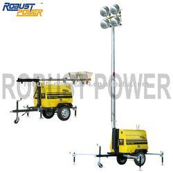8.4KW Kubota engine Mobile light tower