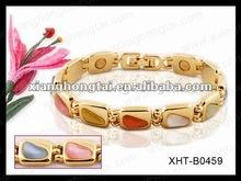 wholesaler christmas promotioanl gift magnetic bracelet health