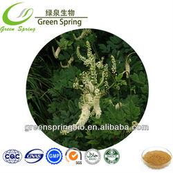 Black cohosh extract powder/ black cohosh extract 2.5% 8% triterpene HPLC
