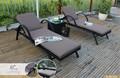 Lxury hasır rattan dış mekan mobilya( aluminyum çerçeve 1.2 su geçirmez minder, uv koruma, SGS sertifikası)