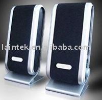 Active portable computer mini multimedia USB 2.0 speaker