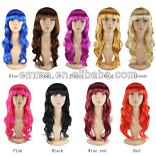 2015 hot sales top NEW good quality carnival halloween cosplay wigs w010