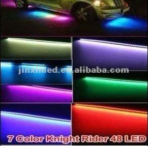 Latest dream color LED Knight Rider Light