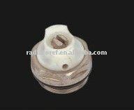 Air vent/Aluminum radiator forged brass diareating valve nickel-plated thread