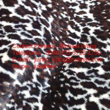 100% polyester printed soft velboa fabric