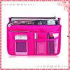 Wholesale Polyester cotton cosmetic organizer bag/makeup hanging bag organizer