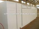 white American style pvc kitchen cabinet