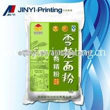 Plastic wheat flour packaging bags