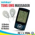 Handheld portátil ems electro fisioterapia mini estimulador muscular eletrônico
