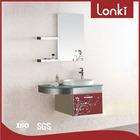 Stainless steel used Bathroom vanity cabinet
