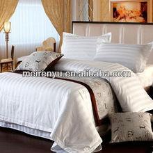 luxury bedding set new bed sheet designs for 5 star hotel white cotton bedding stripe satin bedding sets wholesale