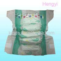 Disposable PE XXL Film Sleepy Baby Love Diapers Baby Nappies Wholesale