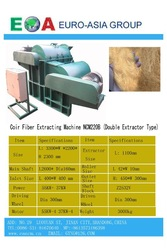 Coir Fiber Extracting Machine