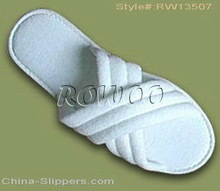 RW13507 disposable hotel slippers bedroom