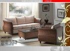 Unique Living set acaisa wooden frame wicker furniture