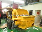 Diesel trailer mounted concrete pump 13mpa