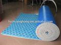 insonorizadas arpillera de la alfombra de espuma de la pu