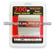 Sale promotion CE/ROHS WELLSEE WS-IC200 200W car converters