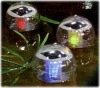 colorchanging LED waterproof solar light