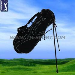 Pro Polyester Black Golf Stand Bag