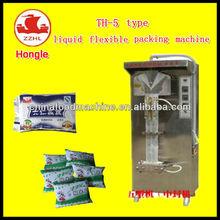 Automatic flexible liquid packing machine