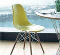 De plástico moderno comedor de restaurante pw-110/eames silla
